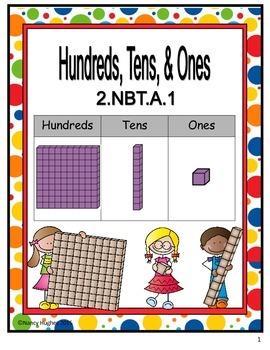 Hundreds, Tens, and Ones:  2.NBT.A.1
