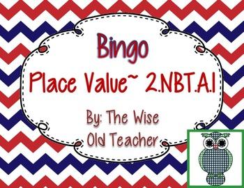 Hundreds, Tens, and Ones Bingo Game PPT with Blank Bingo C