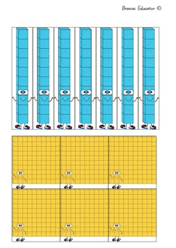 Hundreds Tens and Ones Board Game
