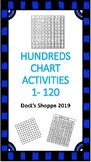 Hundreds chart activities (1-120) (Print and go)