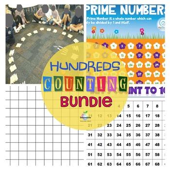 Free Hundred's Chart bundle