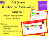 Hundreds lesson pack (2nd Grade Number and Place Value)