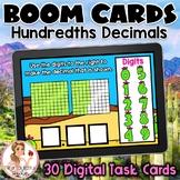Hundredths Decimals BOOM Cards | Digital Task Cards