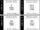 Hundredths - Decimals to Fractions All Task Cards BUNDLE