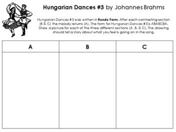 Hungarian Dances #3 Rondo Form