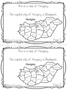 Hungary Country Study | 48 Pages for Differentiated Learning + Bonus Pages