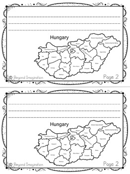 Hungary Booklet Country Study Project Unit