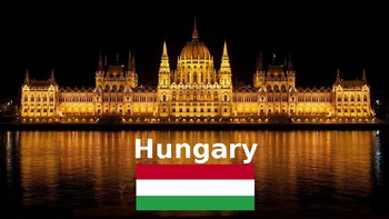 Hungary: Geographic overview with a graphic organizer for students' notes