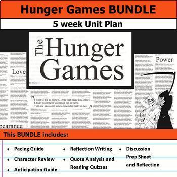 Hunger Games Unit Bundle