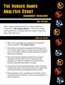 Hunger Games Analysis Essay - Themes and Symbols