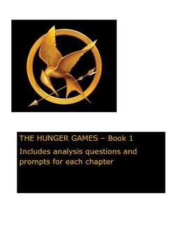 Hunger Games Analysis for Each Chapter