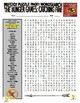 Hunger Games : Catching Fire Puzzle Page (Wordsearch and Cris-Cross)