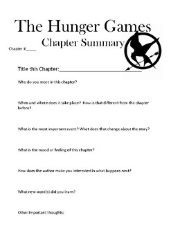 Hunger Games Chapter Summary