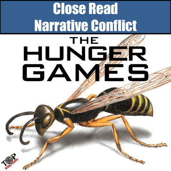 Hunger Games Close Reading Activities Narrative Conflict
