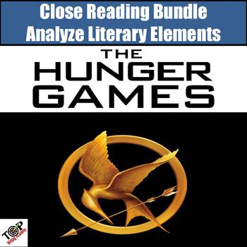 Hunger Games Close Reading Bundle Literary Analysis