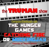 Hunger Games Compare/Contrast with The Truman Show Movie