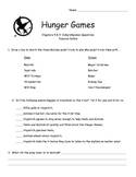 Hunger Games Comprehension Activities