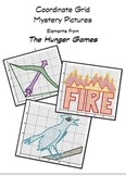 Hunger Games Coordinate Grid Mystery Pictures Common Core