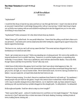 Hunger Games - Creative Writing Assignment