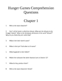 Hunger Games Every Chapter Comprehension Questions AND Answer Key