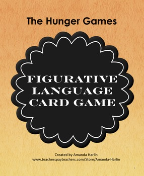 Hunger Games Figurative Language Card Game
