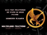 Hunger Games Fraction and Mixed Number Multiplication - Pa
