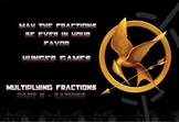 Hunger Games - Fraction and Mixed Number Multiplication Pa