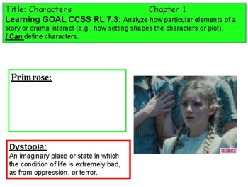 "Hunger Games Guided Reading Pwpt - CCSS Alligned with ""I Can"" Statements!"