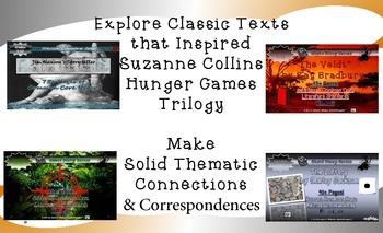 Hunger Games Inspiration Bundle Common Core Rigor