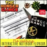 Hunger Games Interactive Notebook Flipbook: Literary Analysis