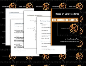 Hunger Games Lesson Plans - Unit Plan for Teaching The Hun
