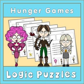 ESL Hunger Games  Logic Puzzles