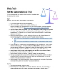 Hunger Games Mock Trial: Put the Gamemakers on Trial (Teac