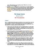 Hunger Games Novel Study Guide (NEW)