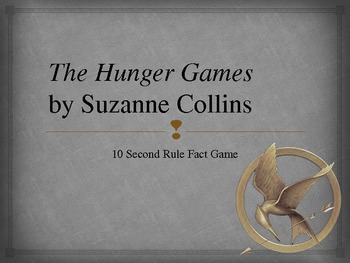 Hunger Games PowerPoint Fact Game