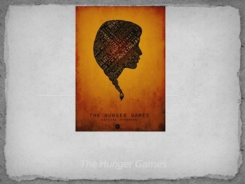 Hunger Games Powerpoint - Theme