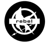 Hunger Games Printable Mockingjay Rebel Sticker Sheet