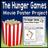 Hunger Games Project: Create a Movie Poster {Hunger Games Book Report Activity}