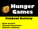Hunger Games: Quote Analysis Fishbowl Activity