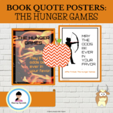 Hunger Games Quote Posters