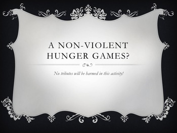 Hunger Games Review Activity