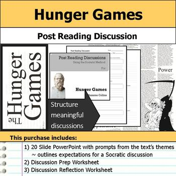 Hunger Games - Socratic Method - Post Reading Discussions