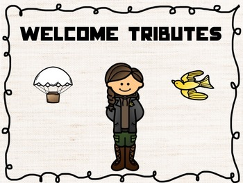 Hunger Games Testing Theme Banners