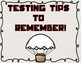 Hunger Games Testing Theme Testing Tips