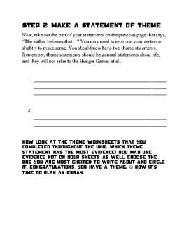 Hunger Games Theme Essay