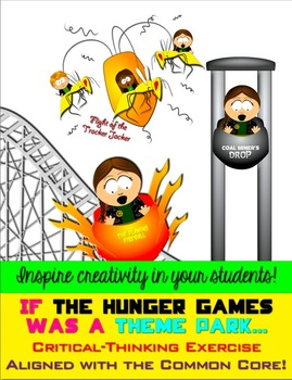 The Hunger Games Theme Park Creative Common Core Activity