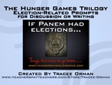 Hunger Games Trilogy Presidential Elections Activities
