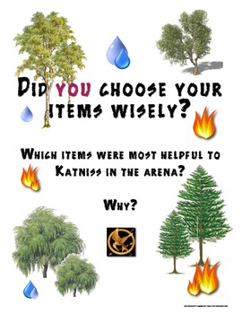 Free Hunger Games Trilogy Survival Survey Visual Aid
