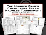 Free Hunger Games Trilogy Tournament Madness Creative Activity