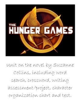 The Hunger Games Reading Comprehension and Writing Unit